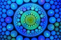 The fractal Mandela effect
