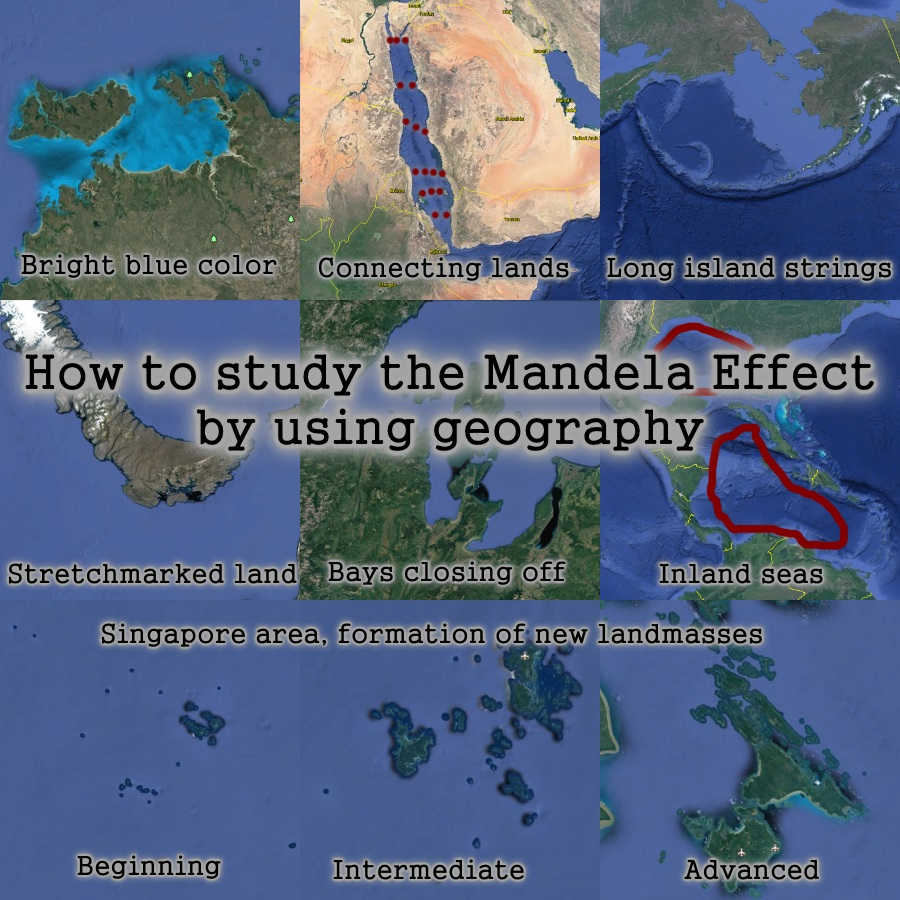 How to study the Mandela Effect using geography