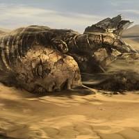 A ruined Earth
